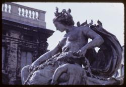 [Détail de la fontaine Bartholdi, place des Terreaux]