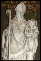 [Statue, église Saint-Nizier]
