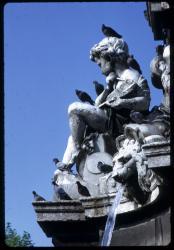 [Détail fontaine, place Maréchal Lyautey]