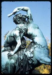 """[Parc de la Tête d'Or : """"La Centauresse et le Faune""""]"""