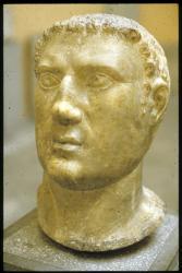 [Sculpture romaine au musée lapidaire, Aix-les-Bains]
