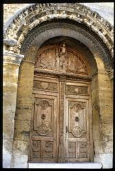 [Porte de la cathédrale, Saint-Paul-Les-Trois-Châteaux]