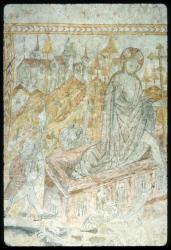 [Fresque, église de Saint-Maurice de Goudrans]