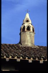 [Saint-Cyr-de-Menthon (Ain) : cheminée sarrasine]