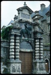 [Porte du château de Vizille]