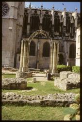 [Jardin archéologique et cathédrale Saint-Jean]