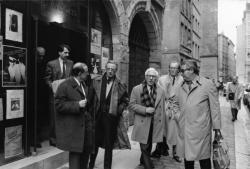 [Procès Klaus Barbie : réunion des avocats des parties civiles à Saint-Jean]
