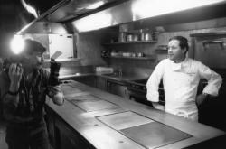 [Georges Blanc, grand chef cuisinier à Vonnas (Ain)]