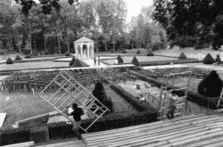 [Jardins du château de la Bastie d'Urfé (Loire)]