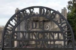 Sépulture des Soeurs de Saint-Vincent-de-Paul