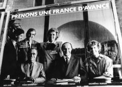 """[Affiche : """"Prenons une France d'avance"""" (gouvernement Fabius)]"""