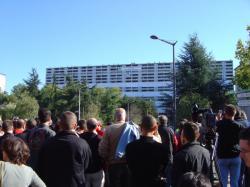 """Démolition de la """"Barre 210"""""""