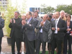 [Visite de Frédéric Mitterrand pendant les Journées du Patrimoine 2009]