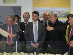 [Visite du premier ministre Manuel Valls]