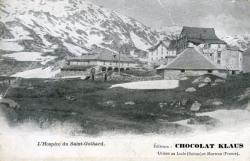 L'hospice du Saint-Gothard.