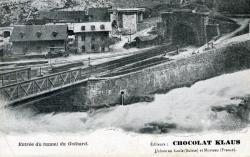 Entrée du tunnel du Gothard