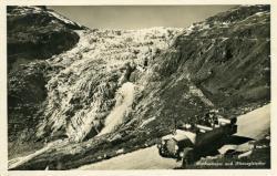 Furkastrasse und Rhonegletscher