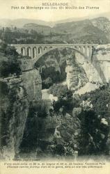 Bellegarde - Pont de Montange au lieu dit Moulin des Pierres