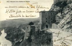 Fort l'Ecluse et la Vallée du Rhône.