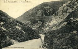 Vallée du Rhône et Fort de l'Ecluse.