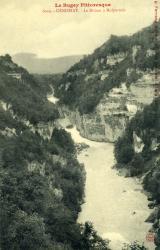 Genissiat - Le Rhône à Malpertuis