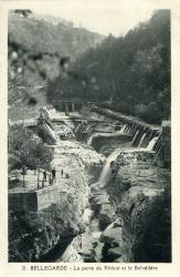 Bellegarde - la Perte du Rhône et le Belvédère