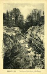 Bellegarde - Vue d'ensemble de la Perte du Rhône