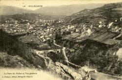 Bellegarde - La perte du Rhône et Vue générale.