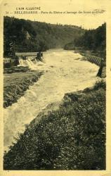 Bellegarde - Perte du Rhône et Barrage des forces motrices.