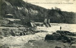 Bellegarde - La Perte du Rhône et Barrage des Forces motrices.