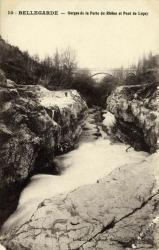 Bellegarde - Gorges de la Perte du Rhône et Pont de Luçay.