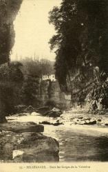 Bellegarde  - Dans les Gorges de la Valserine