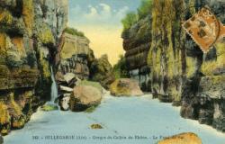 Bellegarde (Ain) - Gorges du Canon du Rhône. Le Fond du Sac.