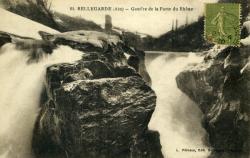 Bellegarde (Ain) - Gouffre de la Perte du Rhône.
