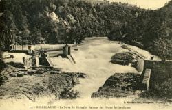 Bellegarde - La Perte du Rhône et Barrage des Forces hydrauliques.