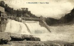 Bellegarde - Chute du Rhône