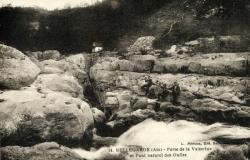 Bellegarde (Ain) - Perte de la Valserine et Pont naturel des Oulles.