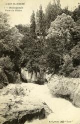 Bellegarde - Perte du Rhône.