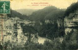 Le Bugey pittoresque - GÉNISSIAT. - Les Gorges du Rhône.