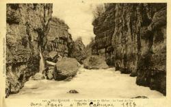 Bellegarde - Gorges du Canon du Rhône - Le Fond de Sac.