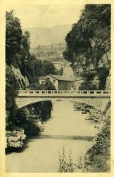 Bellegarde, Gorges du Rhône, Le pont des Usines.