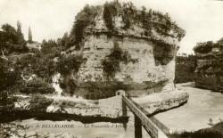 Env. de Bellegarde. - La Passerelle d'Arlod.