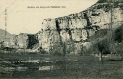 Rochers des Gorges de Puggieux (Ain)