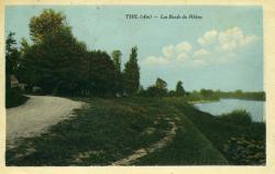 Thil (Ain) - Les bords du Rhône.