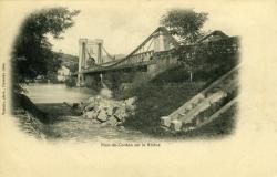 Pont-de-Cordon sur le Rhône