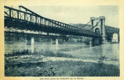 Environs des Avenières - Joli Pont de Cordon, sur le Rhône