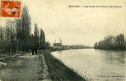 Miribel - Les Bords du Rhône et les Usines