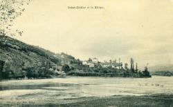 Saint-Didier et le Rhône.