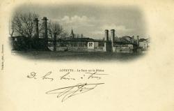 Loyettes - Le Pont sur le Rhône.