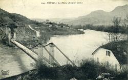 Yenne (Savoie) - Le Rhône et Saint-Didier